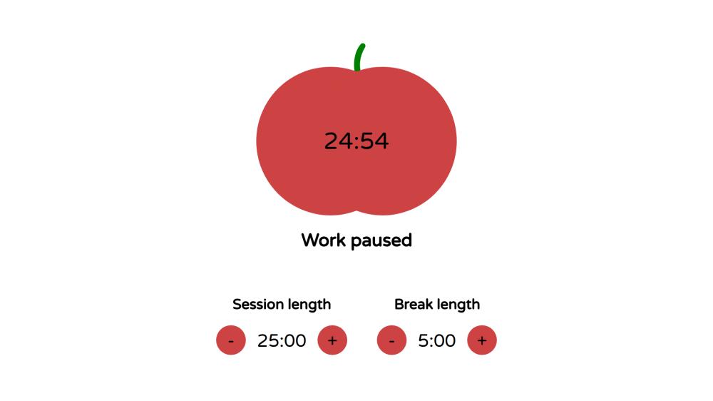 Pomodoro Clock - React