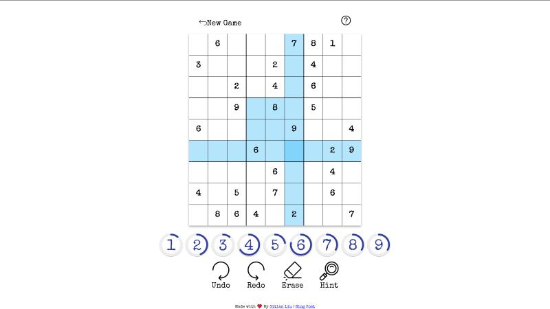 Sudoku Game - React