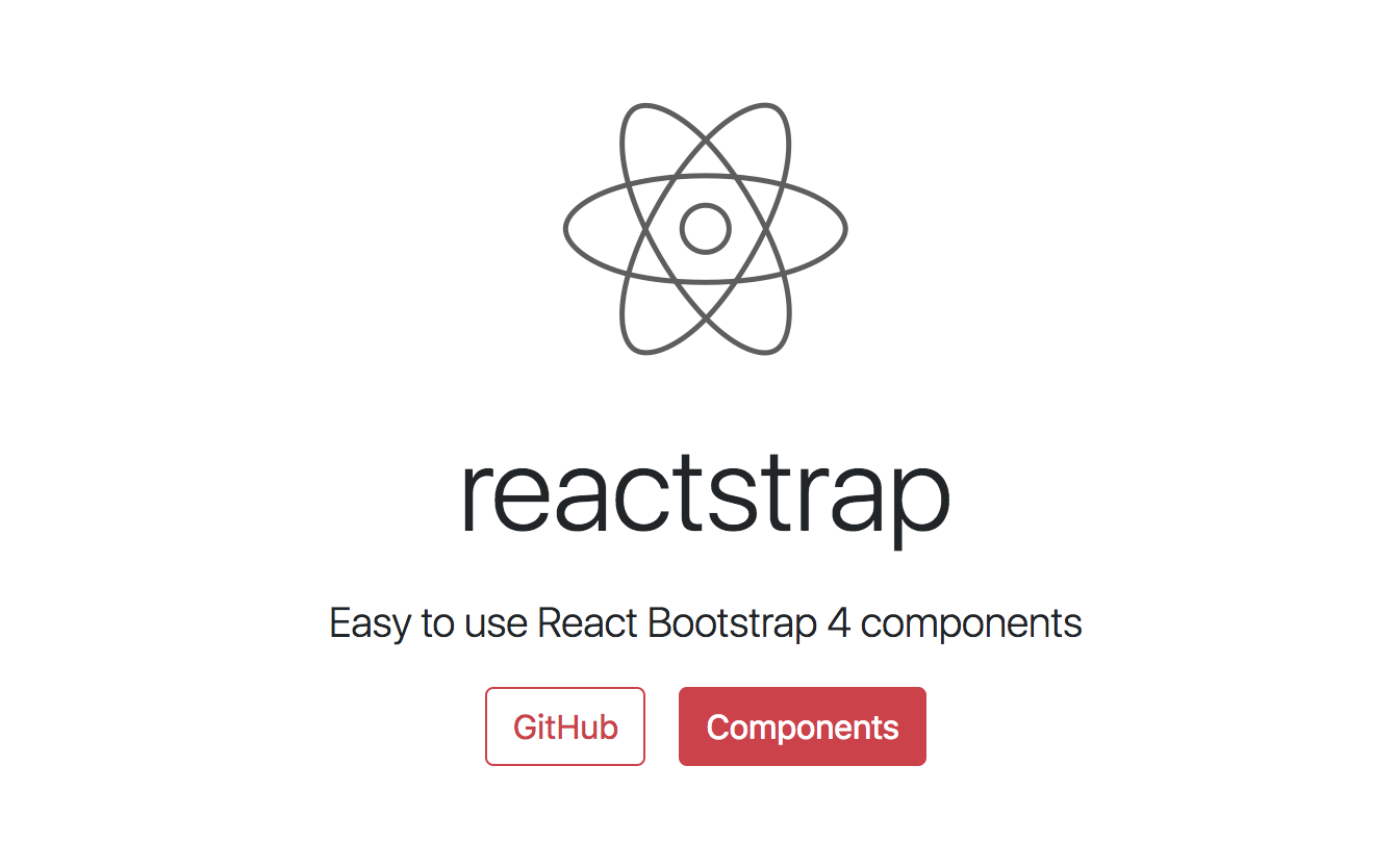 Reactstrap - React Bootstrap 4 Components - Made with React