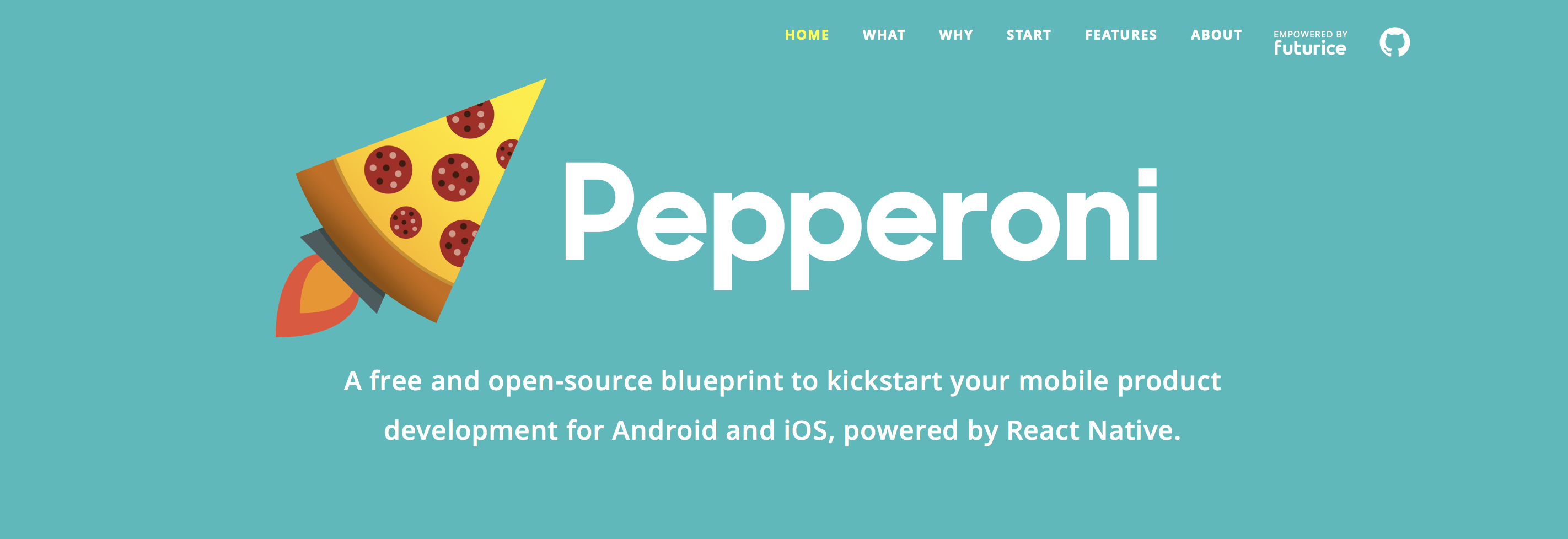 Pepperoni - React Native App Starter Kit for Android and iOS