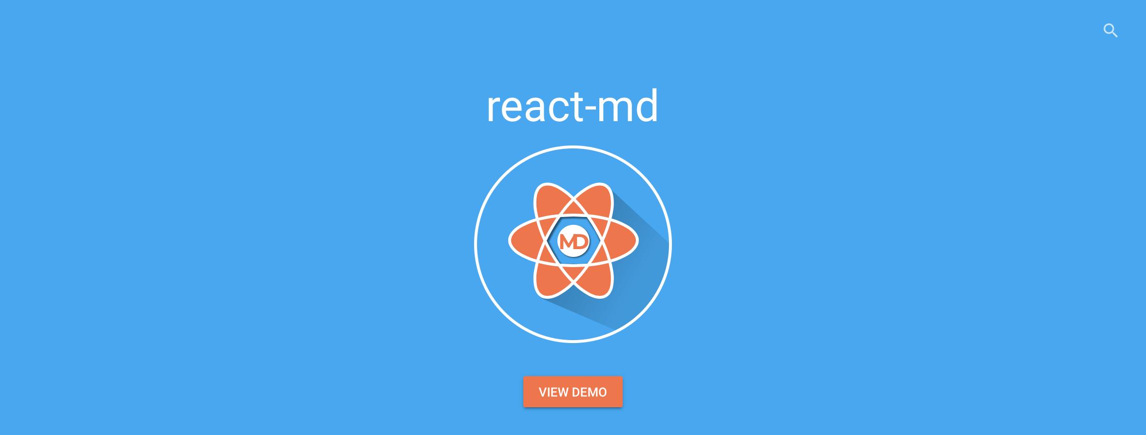 React Material Design - React