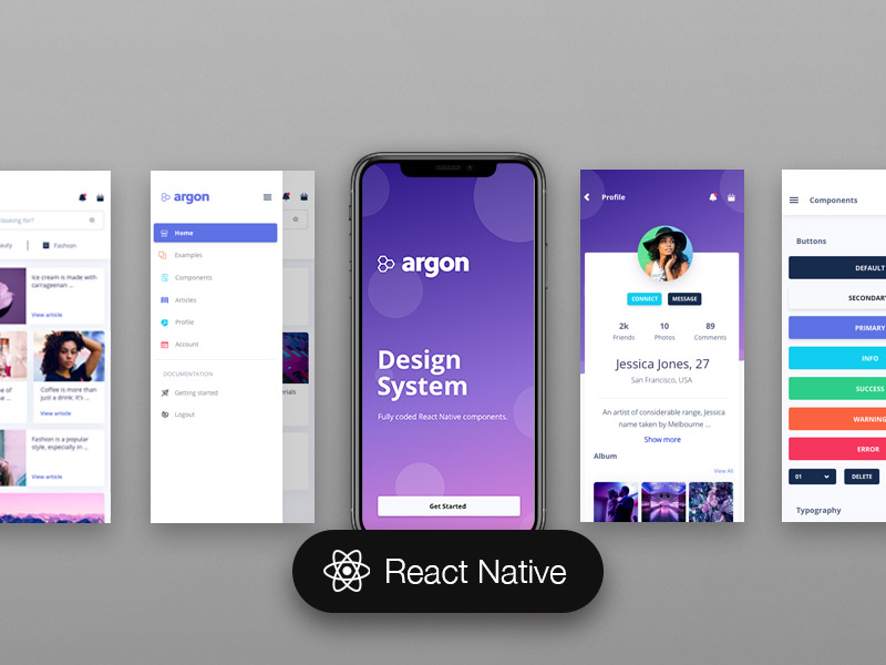 React Native - Page 1 - Made with React