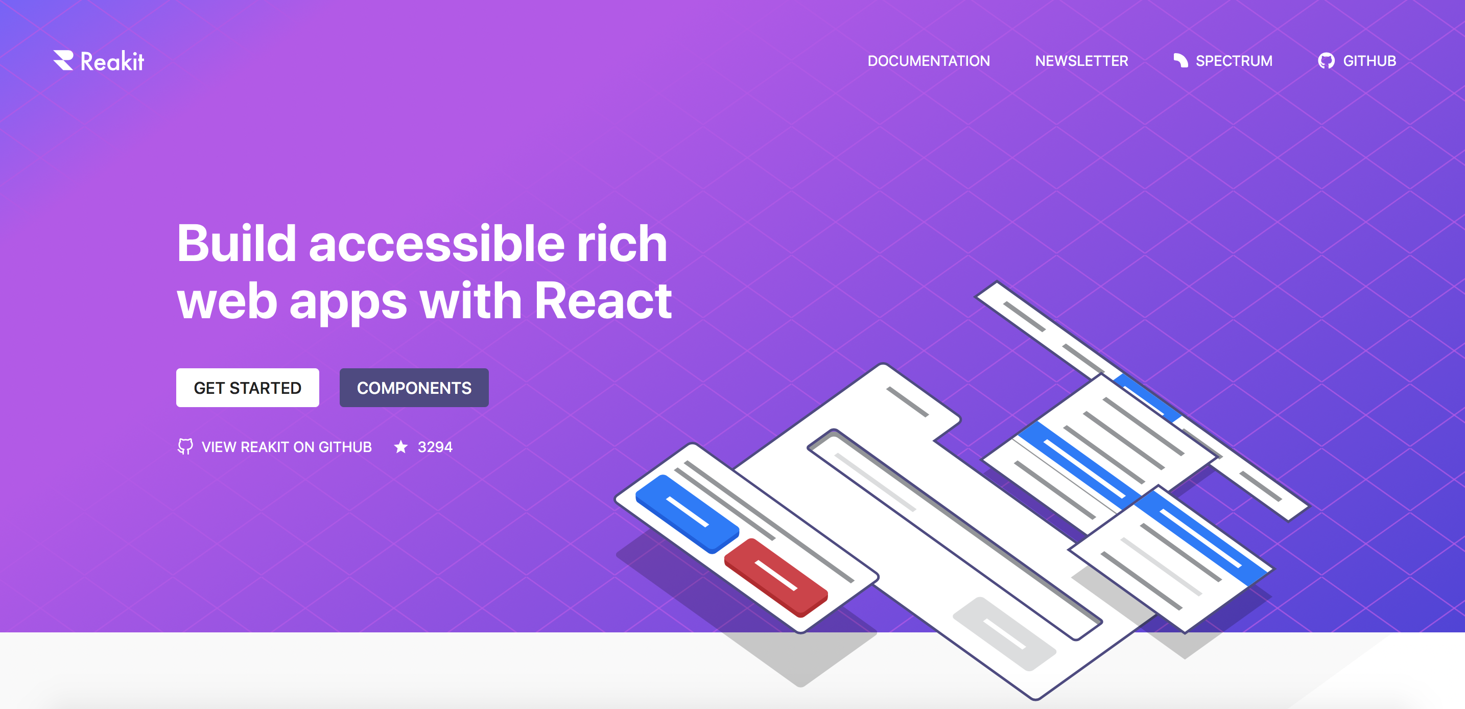 Reakit - Toolkit for building accessible UIs - React