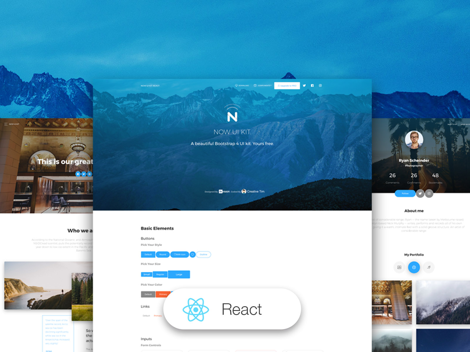 Now UI Kit React - React
