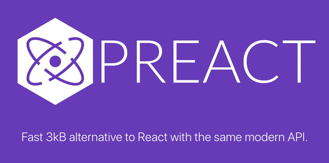 Preact - React