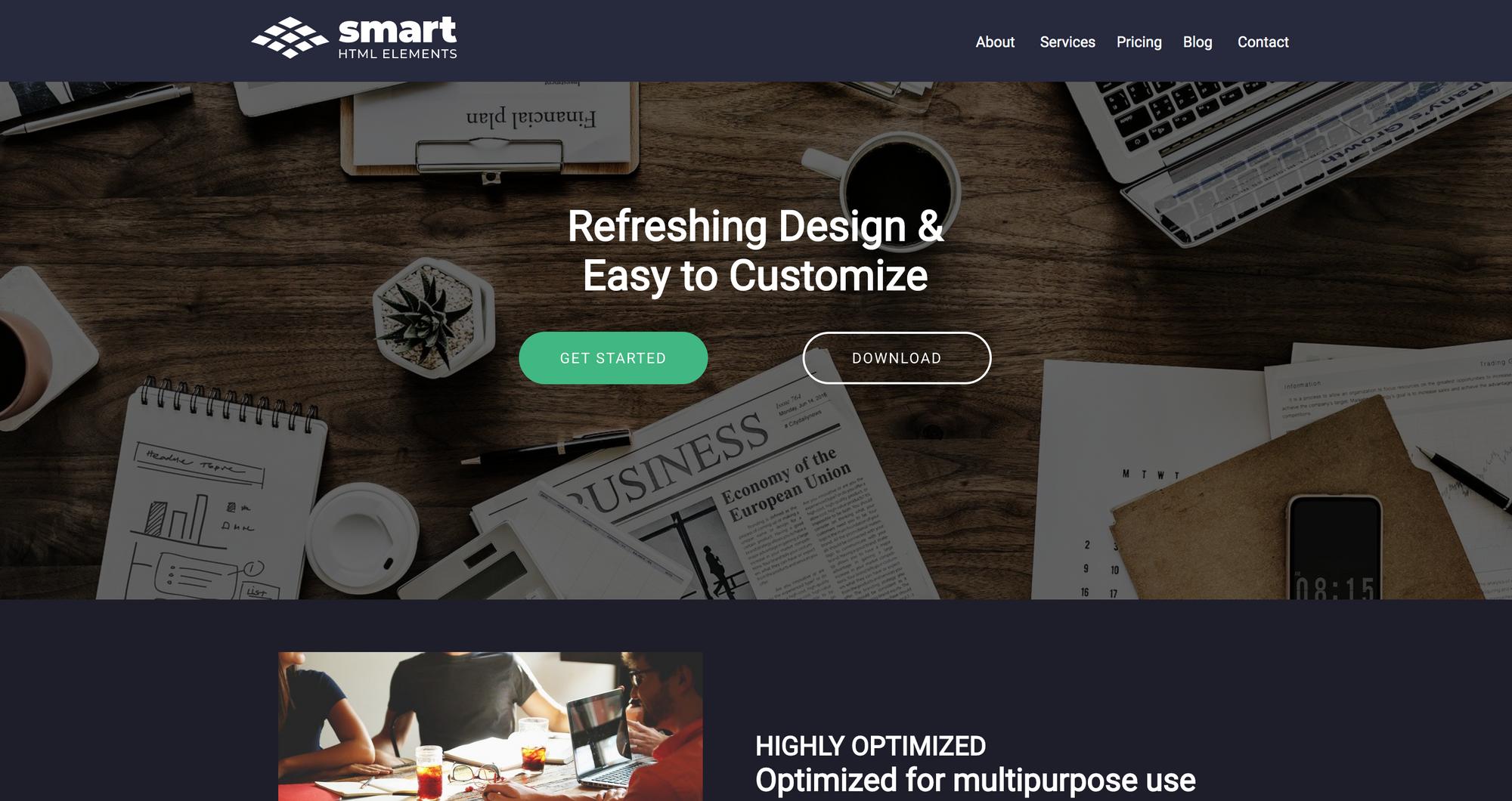 Smart UI - React
