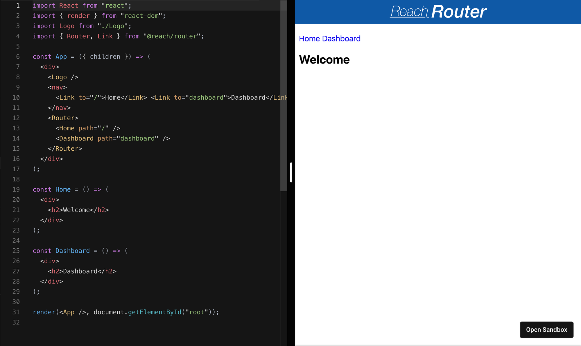 Reach Router - React