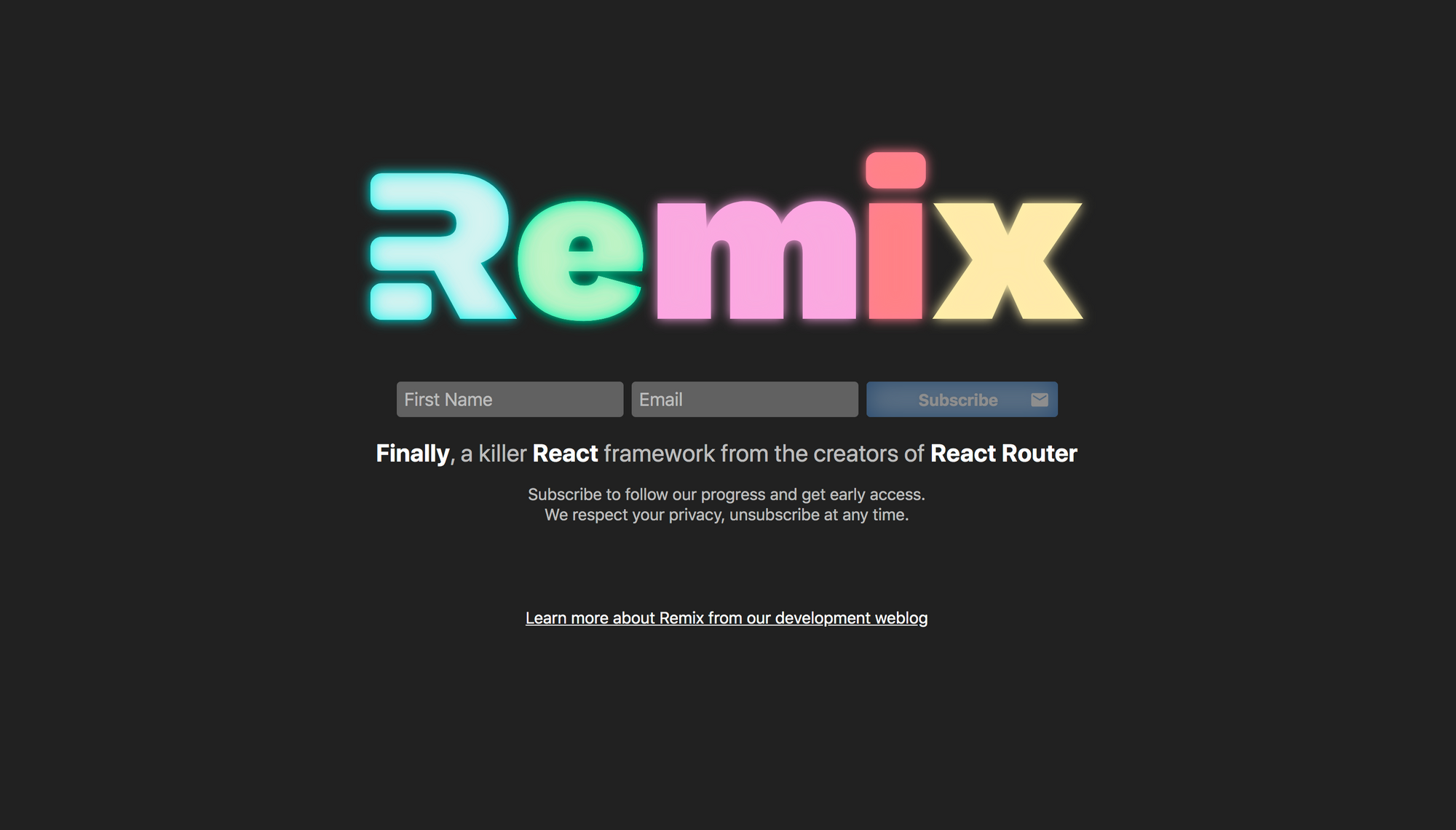 React Remix - React