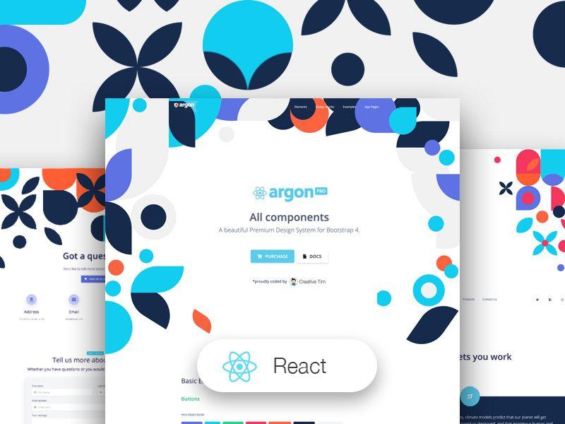 Argon Design System PRO React - React
