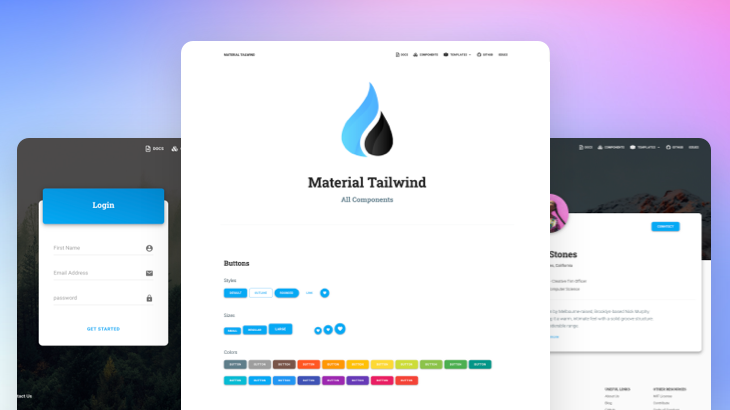 Material Tailwind - React