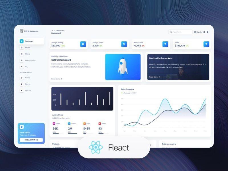 Soft UI Dashboard React - React